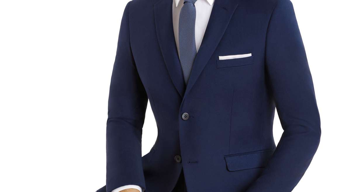 Couture Navy Suit
